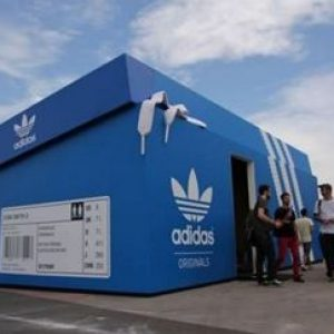 adidas pop up shop