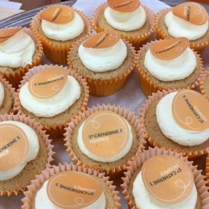 Delicious St Catherine's Hospice cupcakes - we had a few of those!