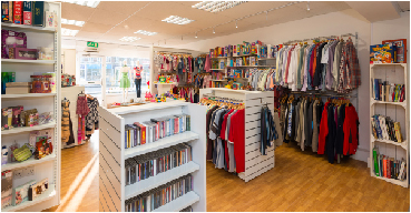 charity and hospice shops